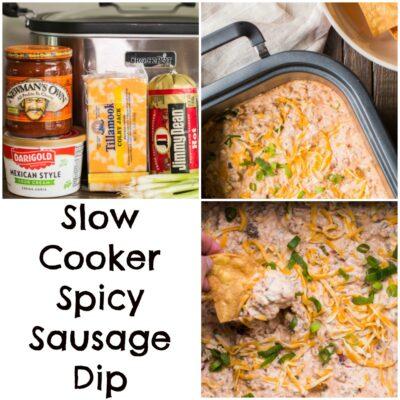 Slow Cooker Spicy Sausage Dip
