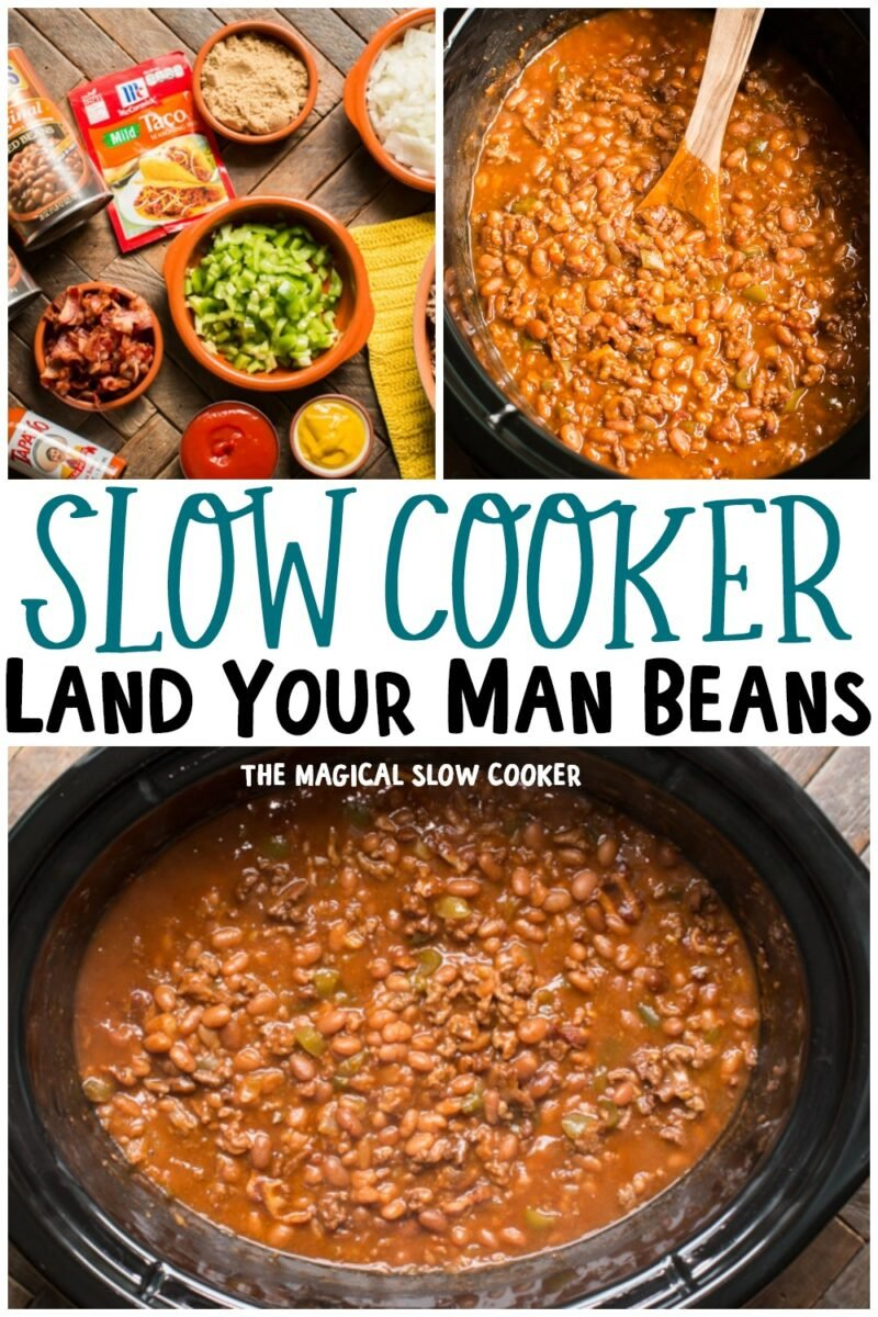 collage of land your man baked bean images for pinterest