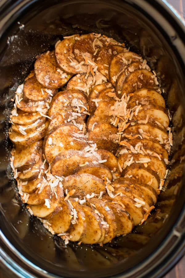 Slow Cooker Lipton Onion Potatoes