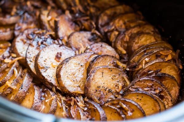 Slow Cooker Lipton Onion Potatoes