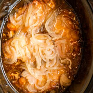 Slow Cooker Pork Chops and Onions