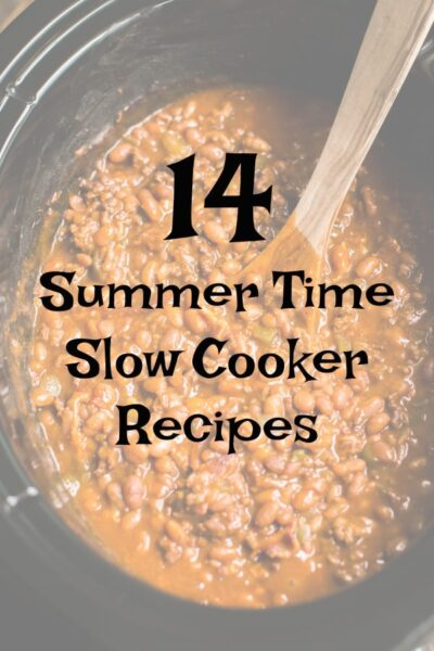 14 Summer Time Slow Cooker Recipes