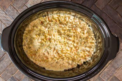 Slow Cooker Chicken Cordon Bleu Casserole