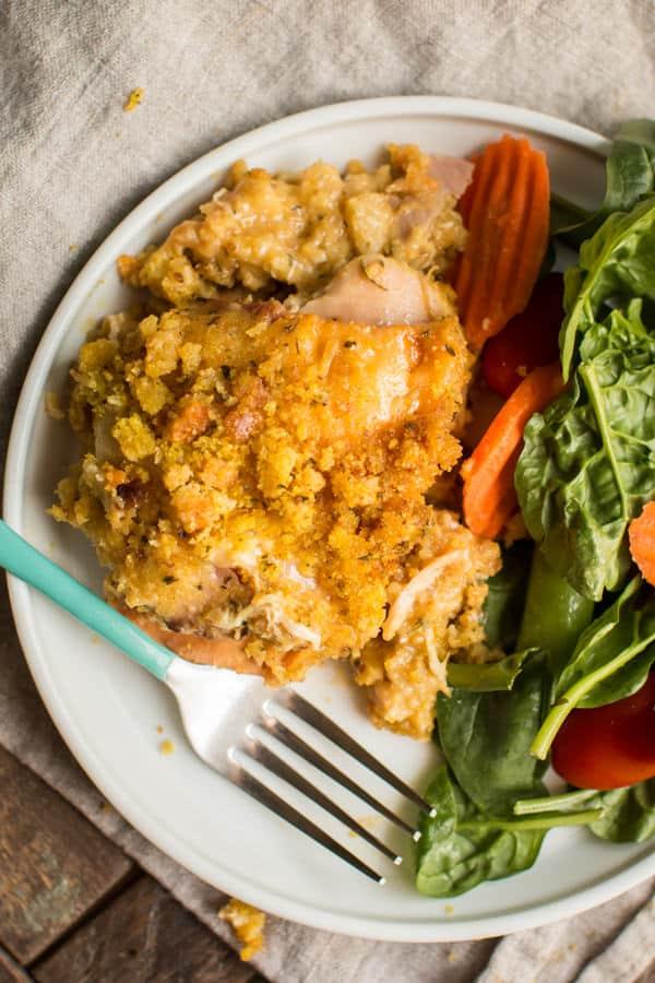 Slow Cooker Chicken Cordon Bleu Casserole The Magical