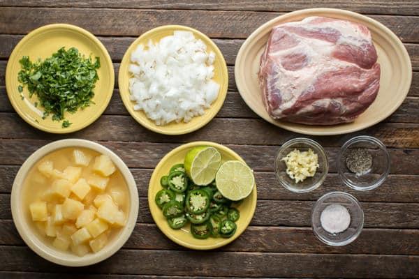 Slow Cooker Pineapple Jalapeno Pork Tacos