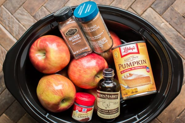 Slow Cooker Pumpkin Applesauce