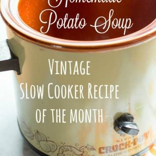 Slow Cooker Homemade Potato Soup