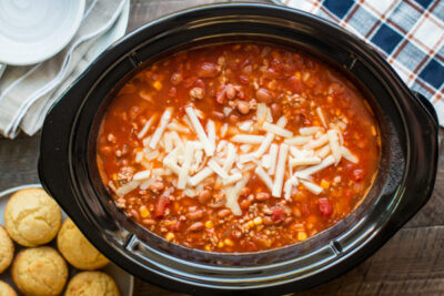 Slow Cooker Turkey Chipotle Chili