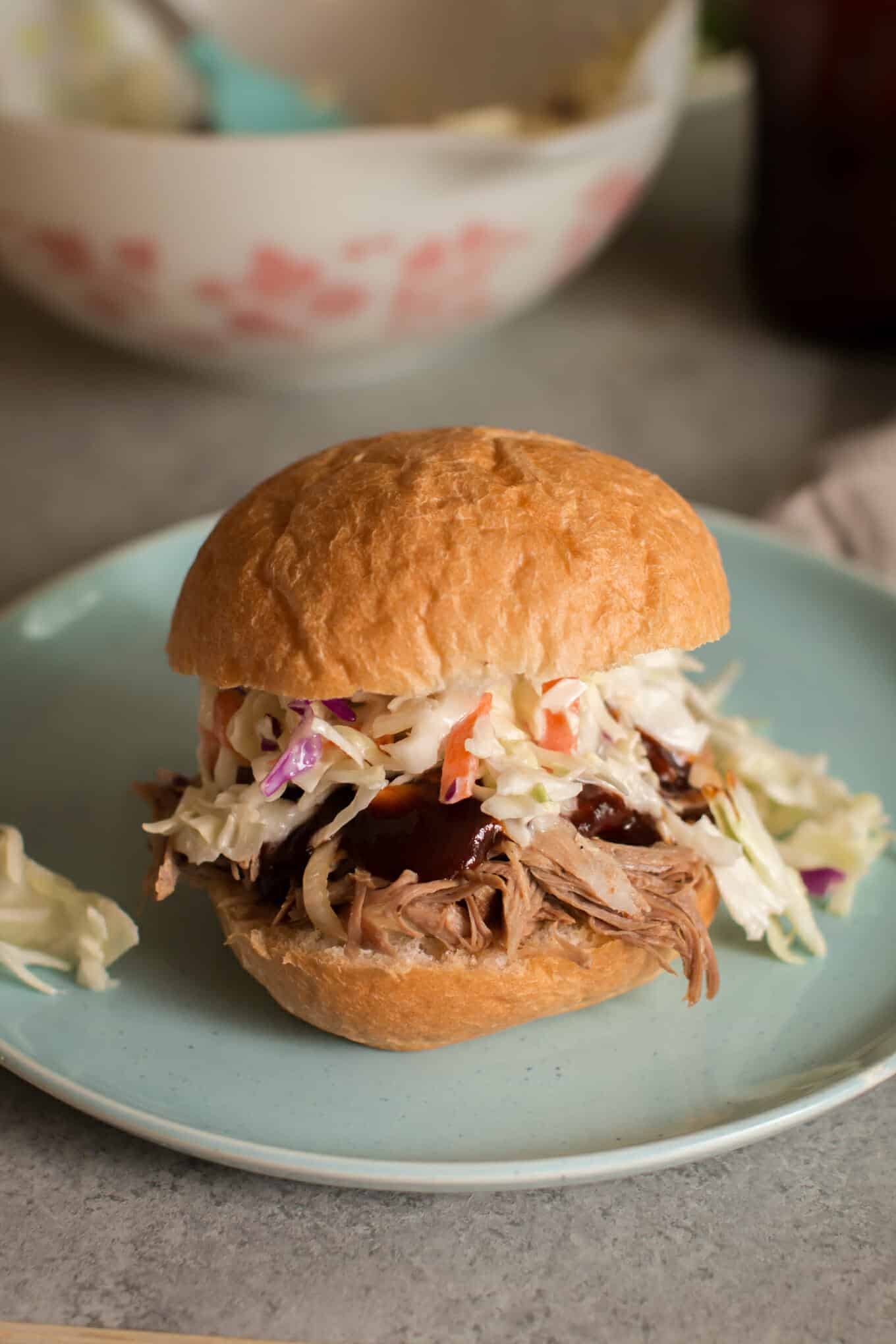 Slow Cooker Hard Cider Barbecue Pork
