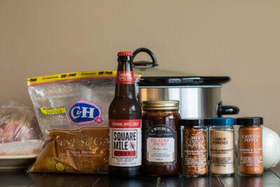 Slow Cooker Hard Cider Barbecue Pork