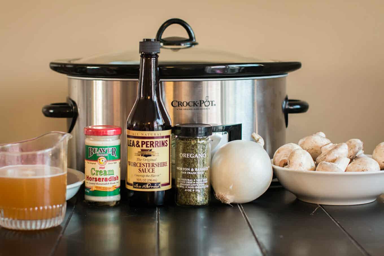 Slow Cooker Horseradish Pot Roast