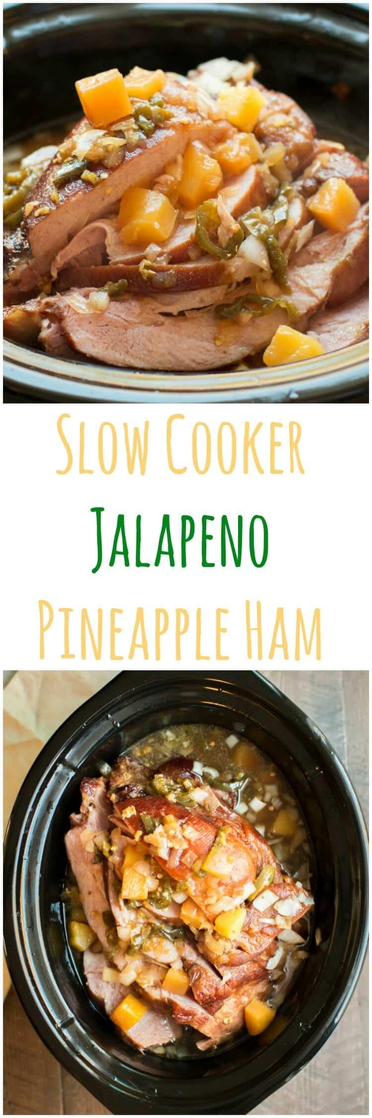Slow Cooker Jalapeno Ham