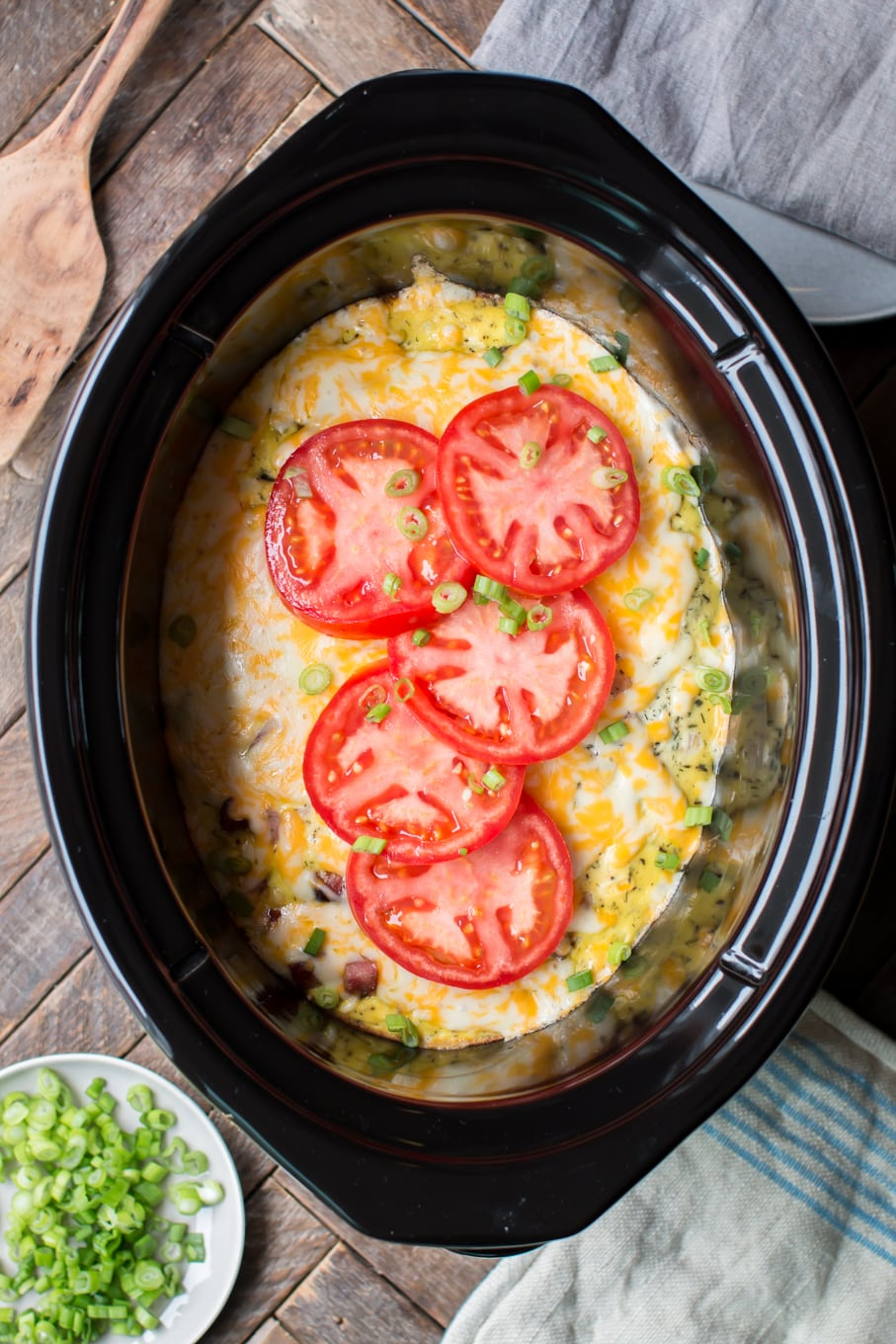 Slow Cooker Farmers Breakfast Casserole
