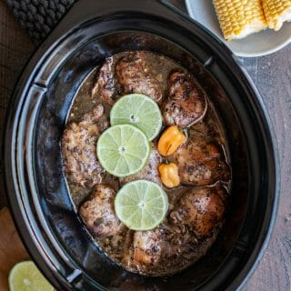 Slow Cooker Jamacian Jerk Chicken