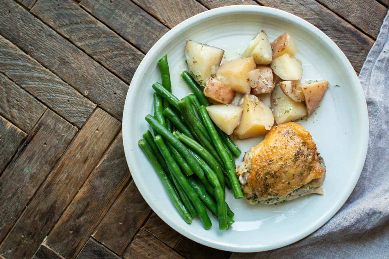 Slow Cooker Ranch Chicken and Red Potatoes