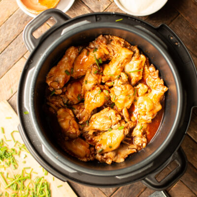 small chicken wings in pressure cooker