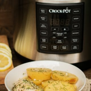 Pressure Cooker Lemon Dill Chicken and Potatoes