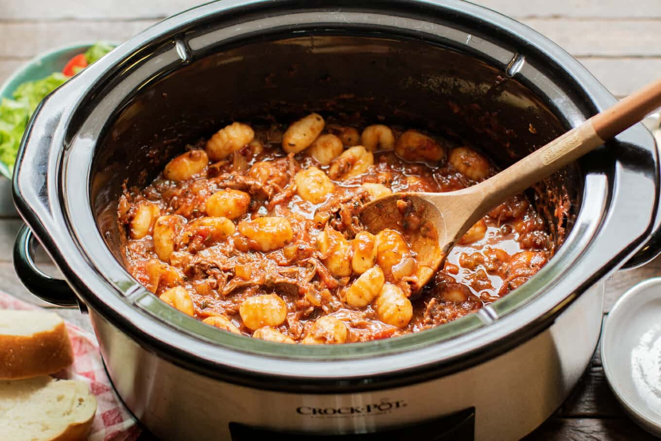 Slow Cooker Short Rib Ragu