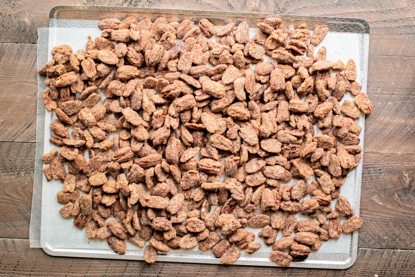 Slow Cooker Candied Pecans