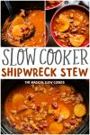 collage of shipwreck stew images