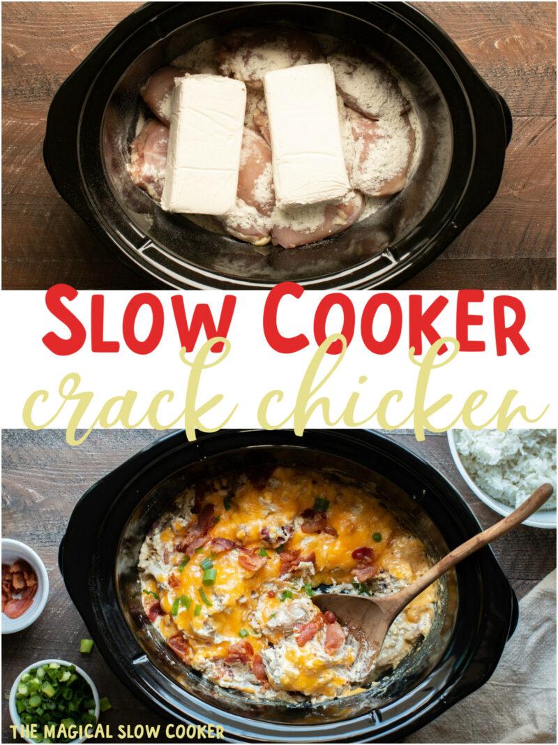 Slow Cooker Crack Chicken