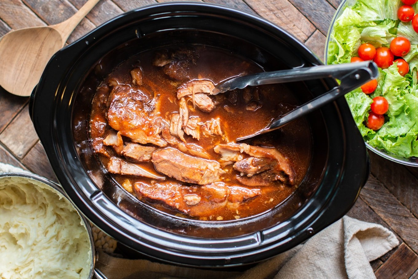 Slow Cooker Sweet and Sour Country Style Ribs