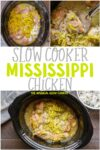 Slow Cooker Mississippi Chicken
