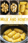 collage of corn images for pinterest