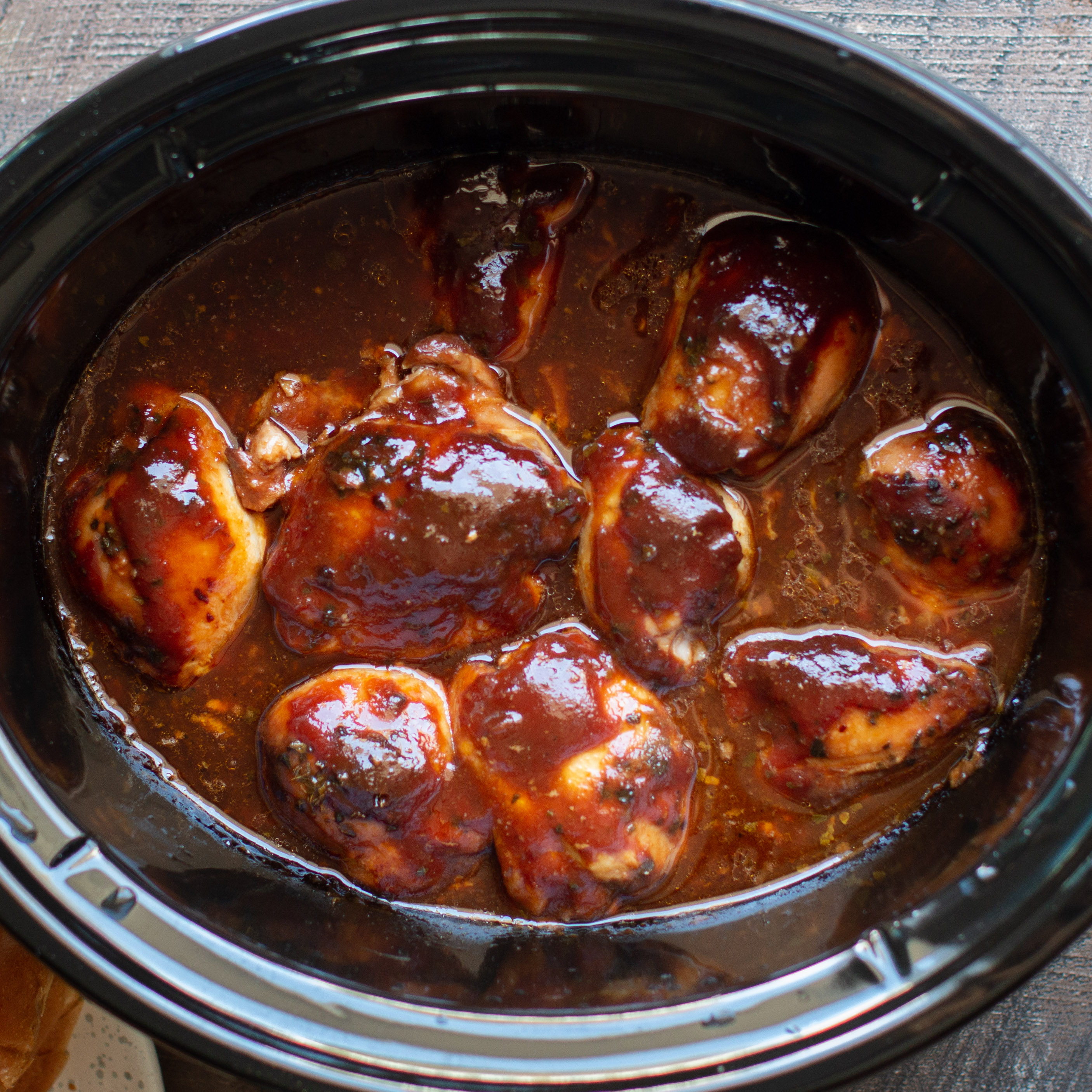 Slow Cooke Root Beer Chicken