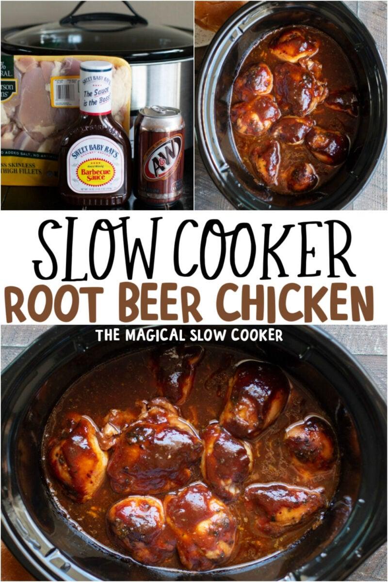 Slow Cooker Root Beer Chicken