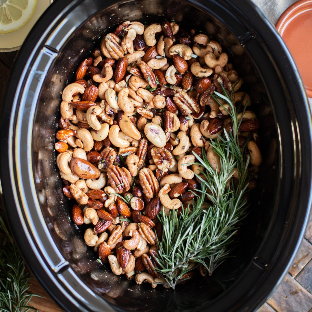 Slow Cooker Union Square Cafe Bar Nuts