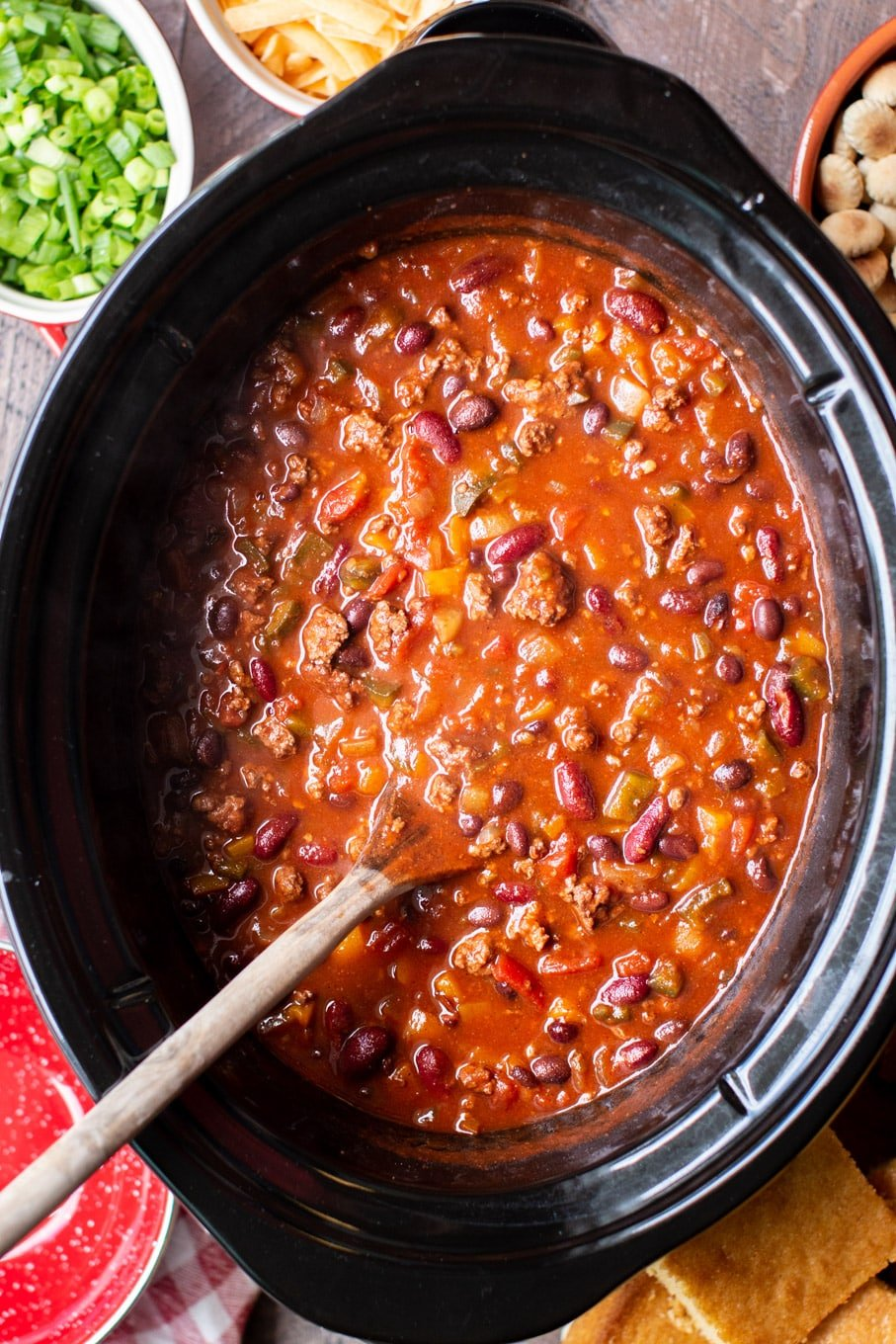 Slow Cooker Venison Chili The Magical Slow Cooker