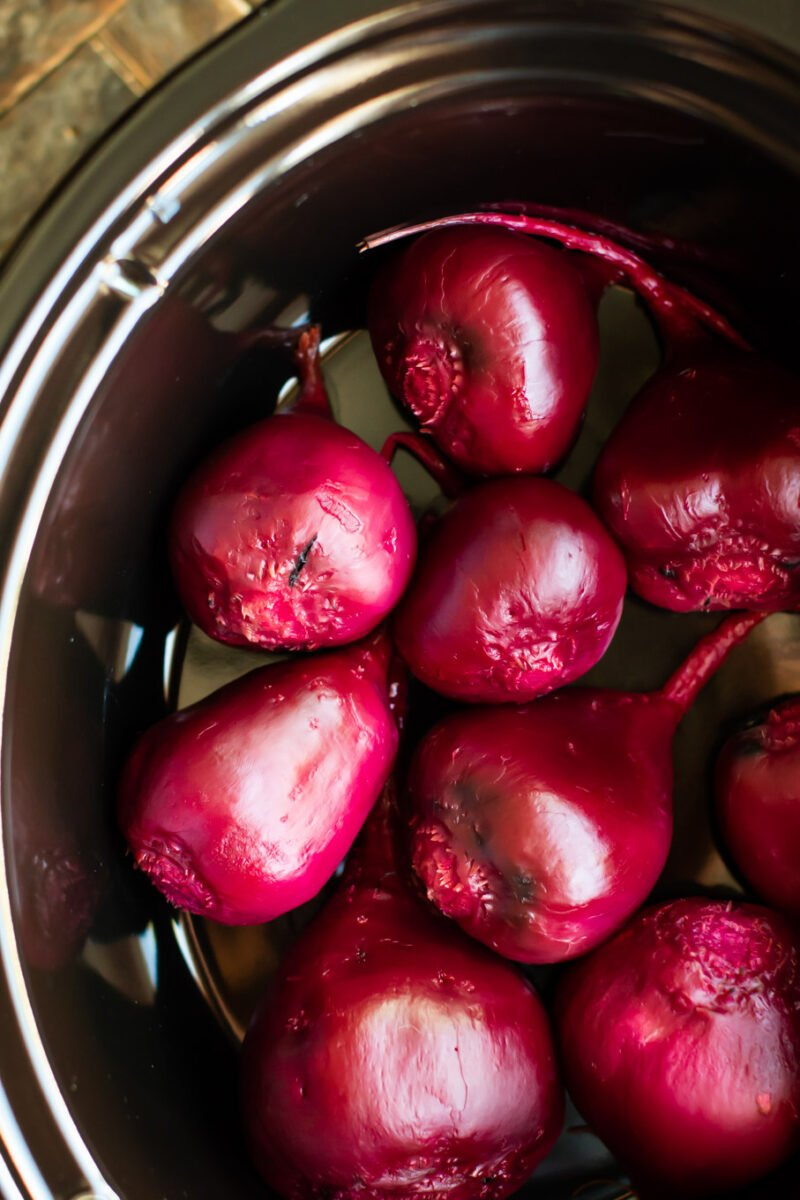 How to Cook Beets in the Slow Cooker