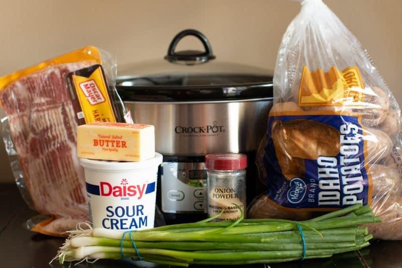 Slow Cooker Baked Potato Casserole