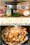 collage of ham images with text overlay for pinterest