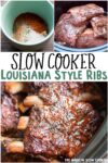 collage of rib images with text overlay for pinterest