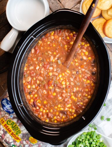 Cajun Vegetarian 15 Bean Soup