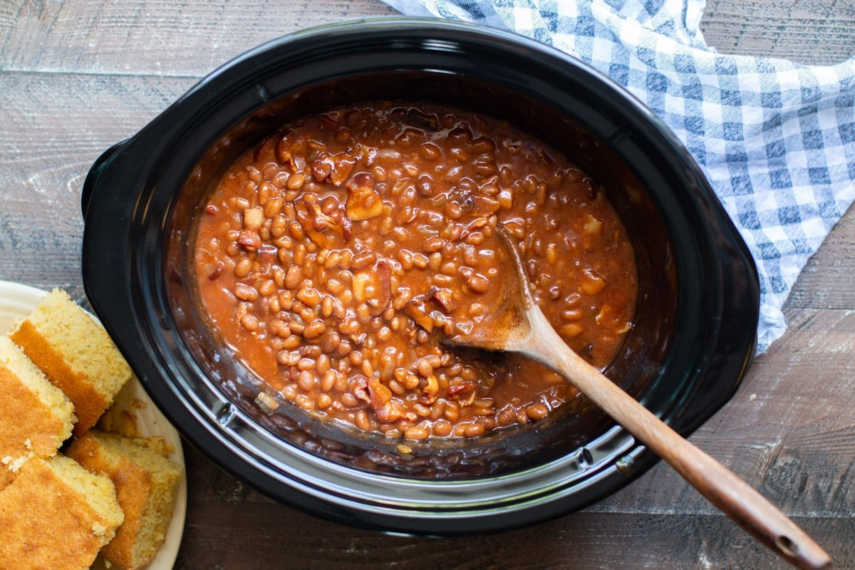 Slow Cooker Baked Beans The Magical Slow Cooker