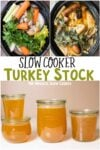 collage of turkey stock images with text overlay for pinterest