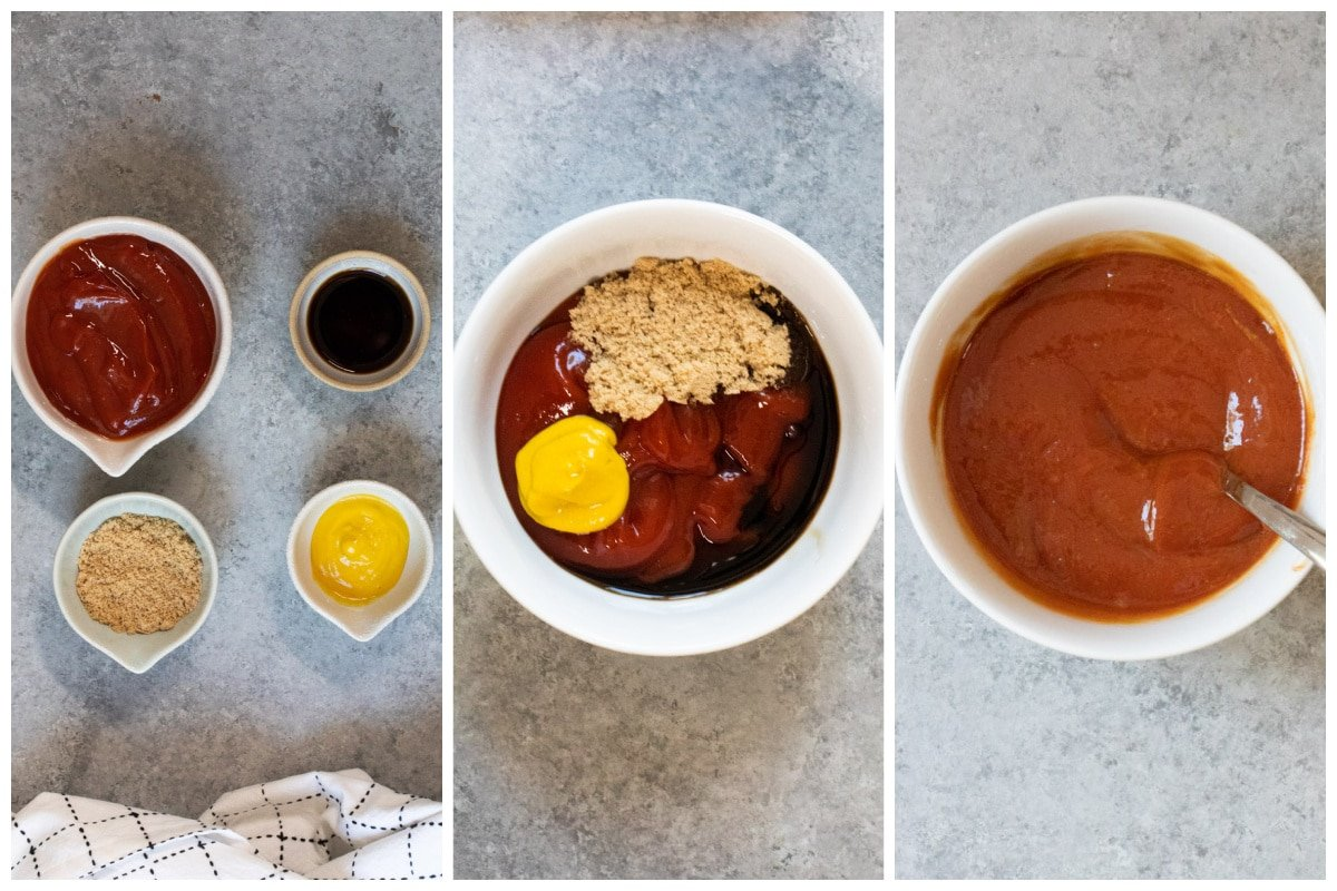 how to make meatloaf sauce collage